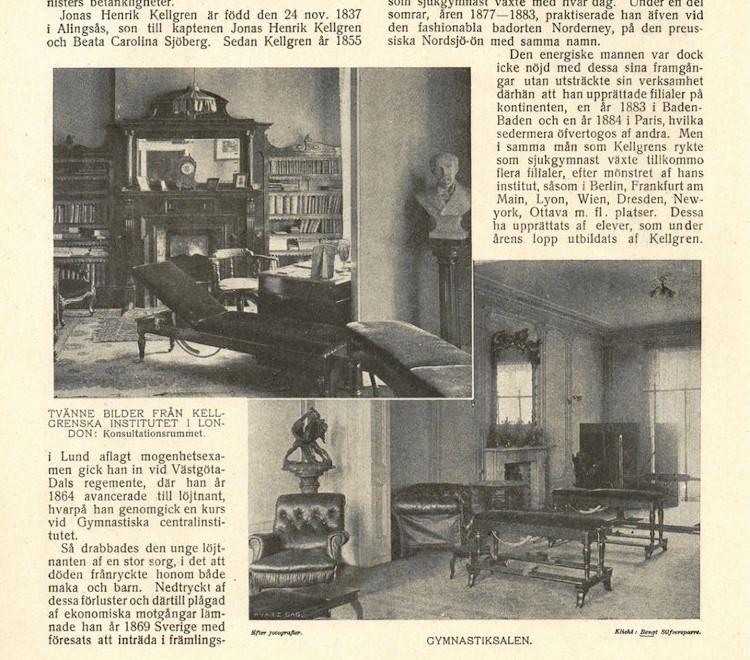 Zdjęcia sal Instytutu Kellgrena w Londynie